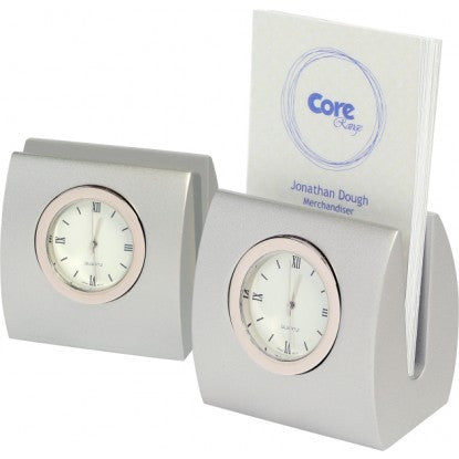 Desk Clock Card Holder