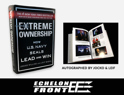 Extreme Ownership - NEW EDITION - Autographed Book