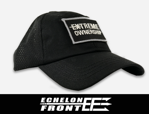 Condor Mesh Hat (Black) and Patch - Extreme Ownership