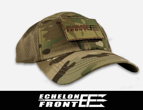 Hat (MultiCam) and Patch - ECHELON FRONT