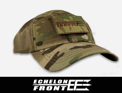 Condor Mesh Hat (Tan) and Patch - ECHELON FRONT