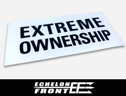 Decal - Extreme Ownership
