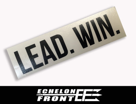 Decal - LEAD.WIN.