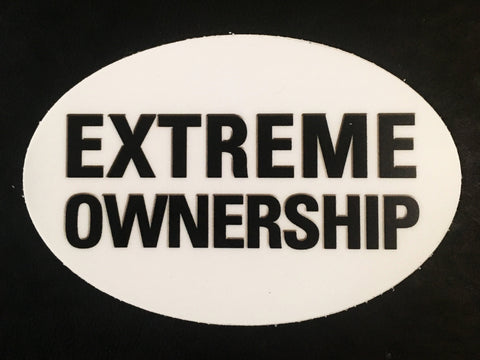 Sticker OVAL - Extreme Ownership
