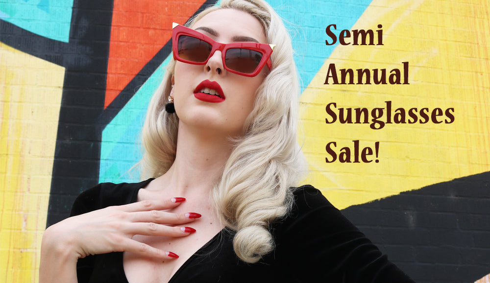 Semi-Annual Retro Sunglasses Sale