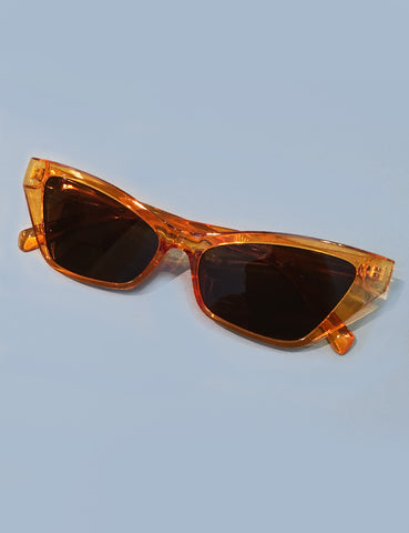 Topaz Unique Squared Retro Inspired Sunglasses