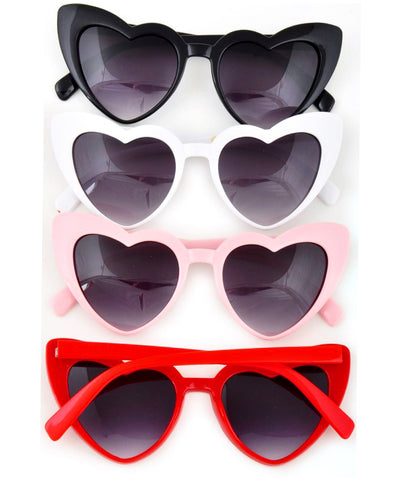 SALE - Imperfect Classic Heart Shaped Sunglasses