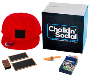 World Leader Red Chalkboard Hat and Accessories