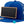 Kids Blue Chalkboard Hat side view