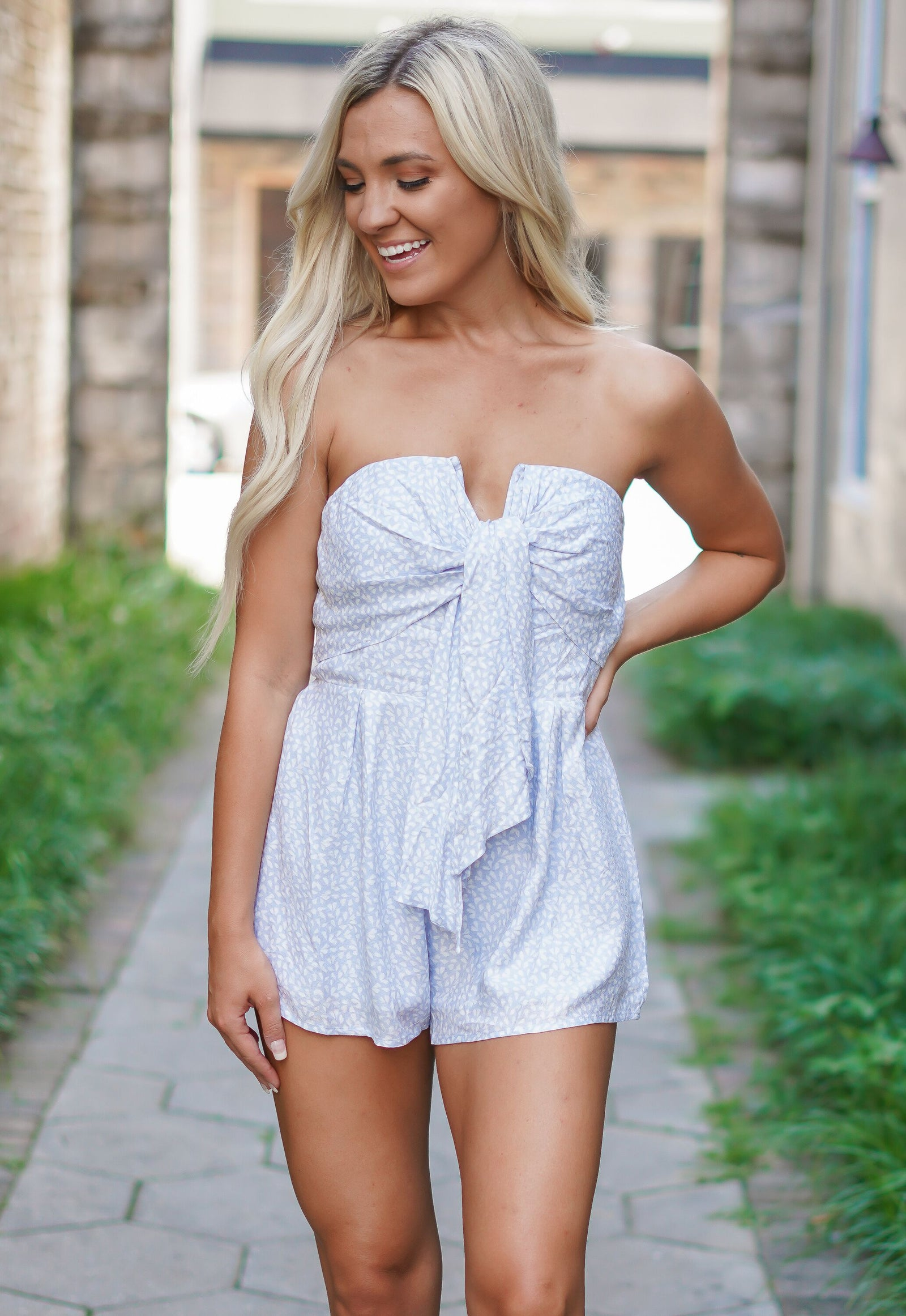 Won't Let You Down Romper