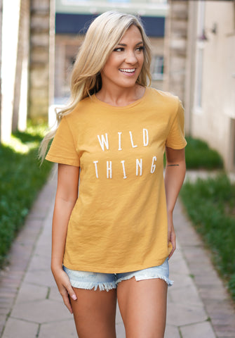 Keep Me on The Wild Side Top