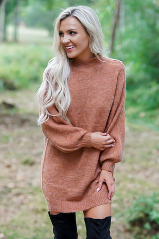 Little Number Dress - Rust
