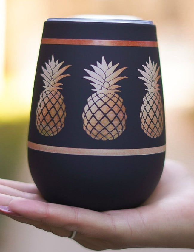 Pineapple Wine Tumbler
