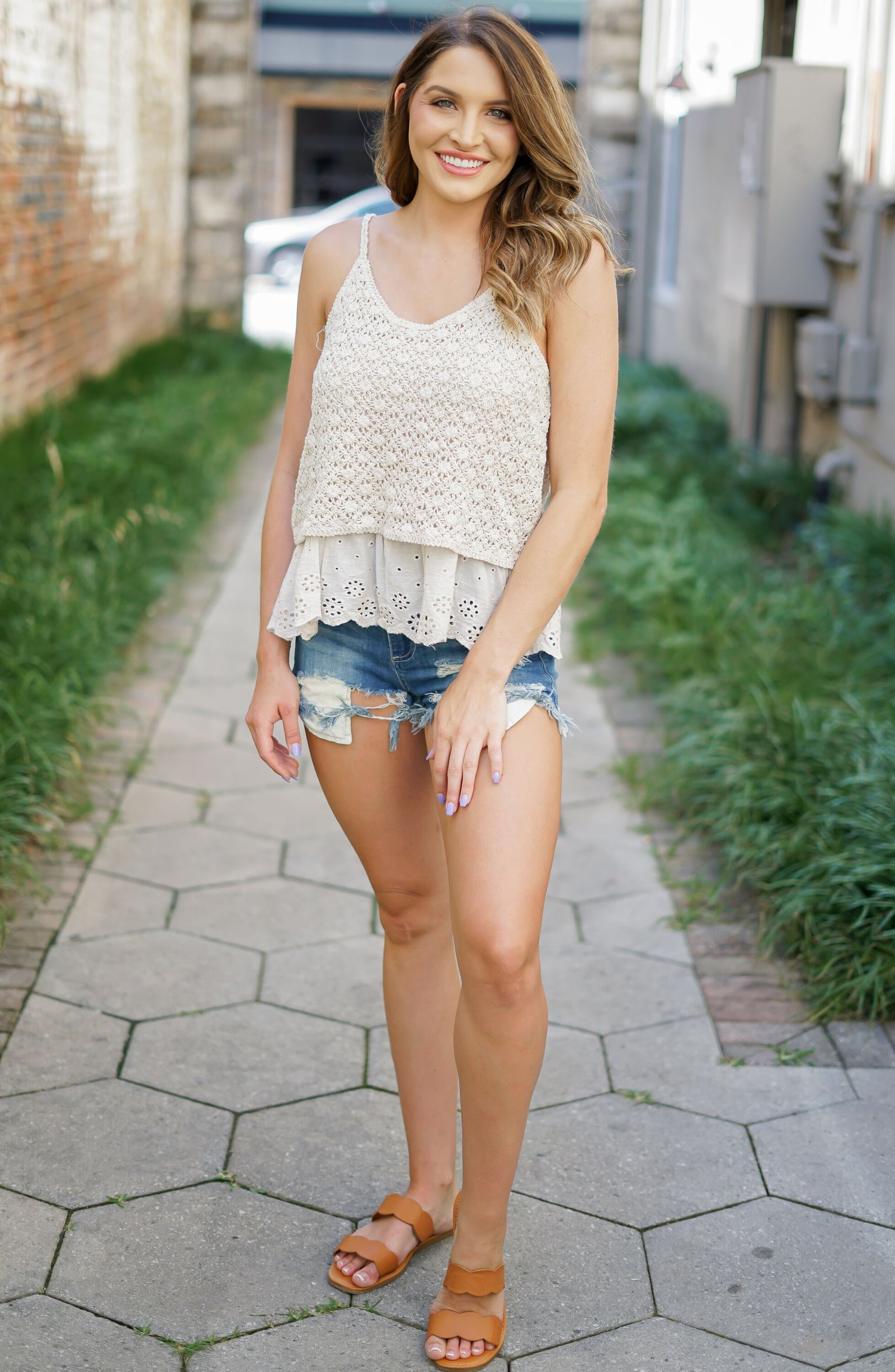 Swift Crochet Tank