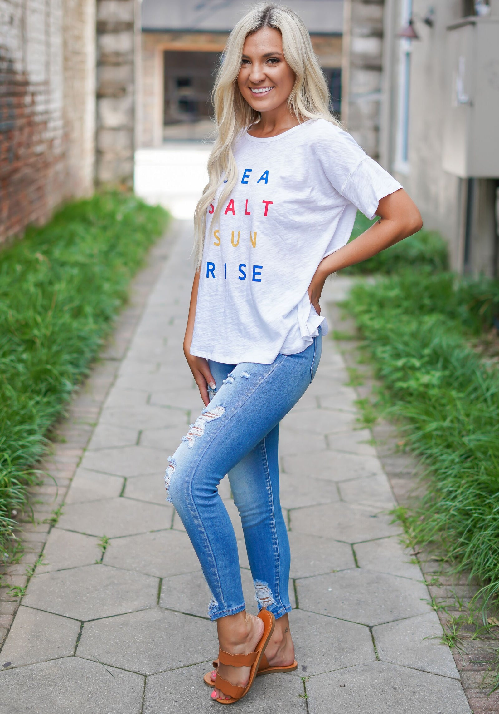 Sea Salt Sunrise Tee