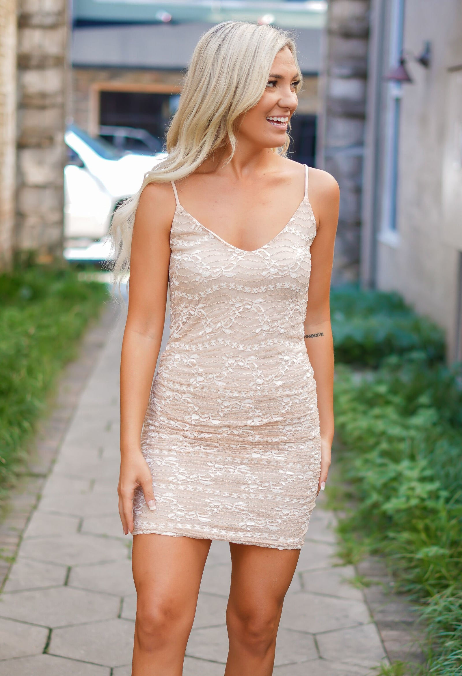 Gonna Be Alright Lace Dress