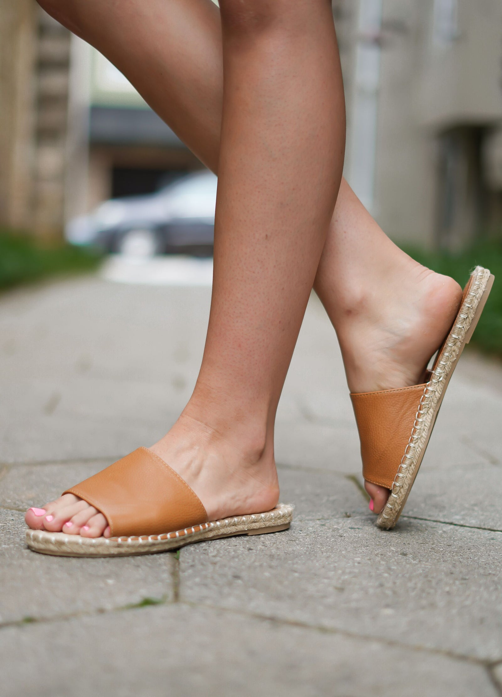 Vacation Sandals - Tan