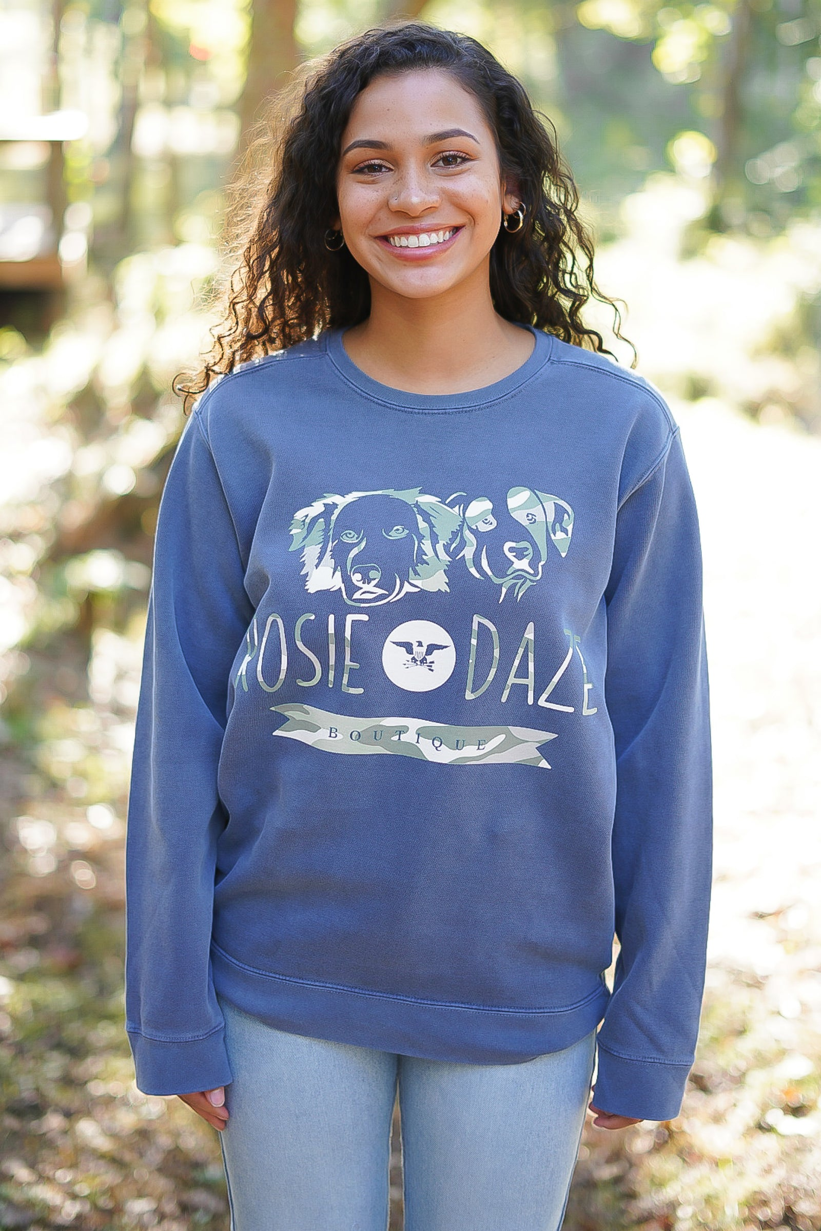 ROSIE DAZE LOGO SWEATSHIRT - LIMITED EDITION DOG LOGO