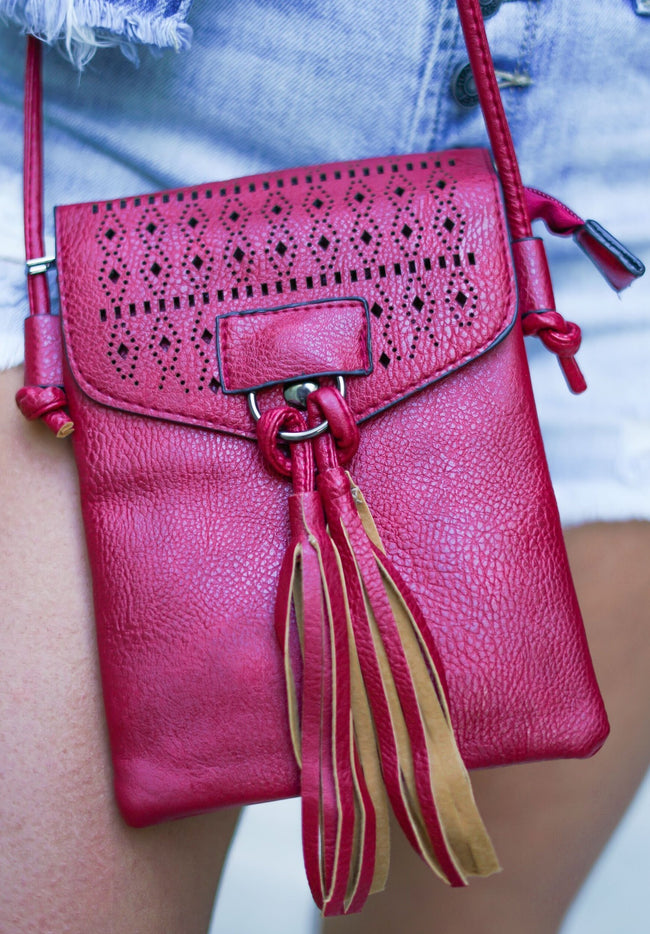 Mini Bag Revamped - Burgundy