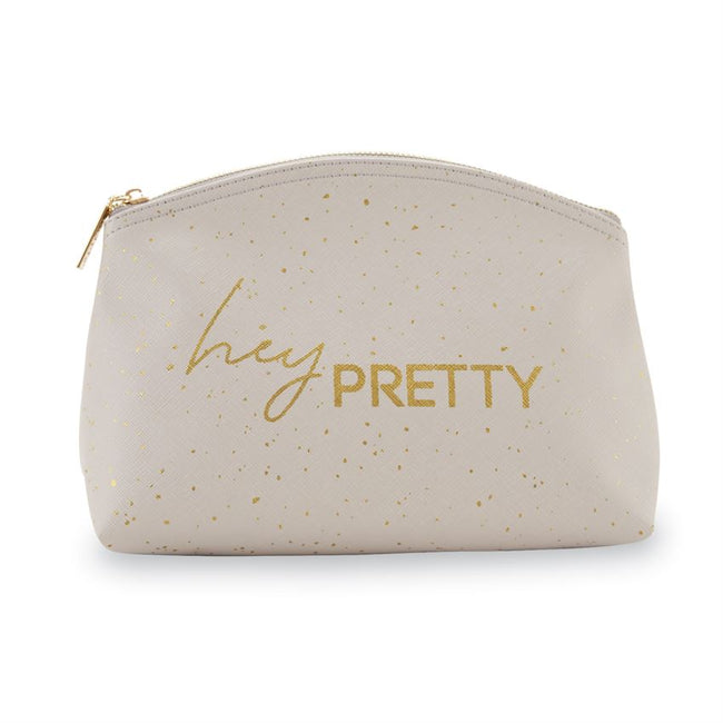 Hey, Pretty Mud Pie Cosmetic Bag
