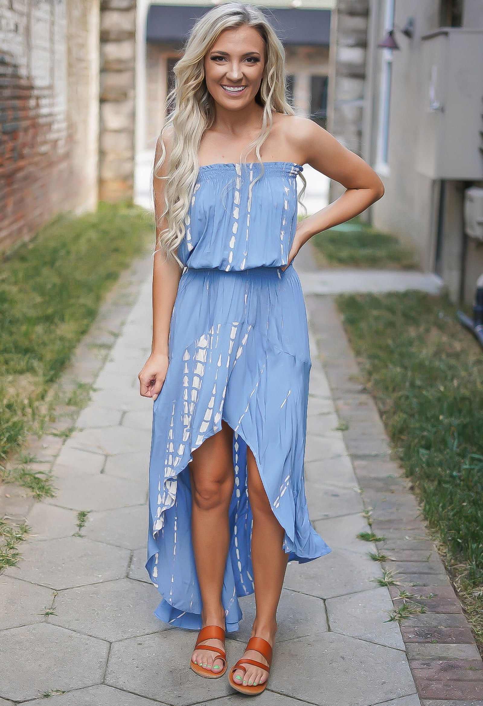 Hurricane High-Low Dress