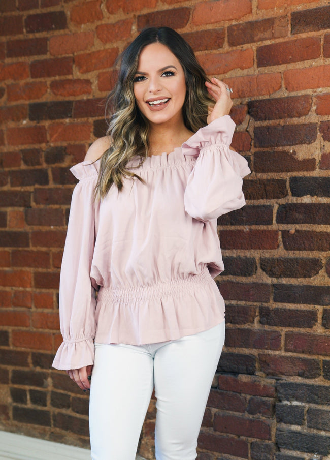 Spring Time Ruffles - Dusty Rose