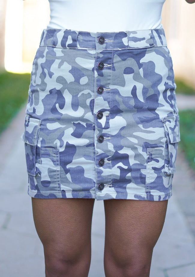 Bella Kan Can Camo Skirt