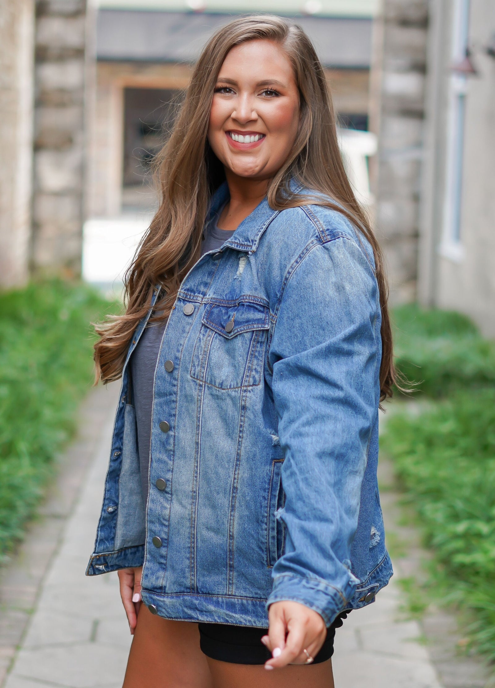 Madison Denim Jacket - Curvy