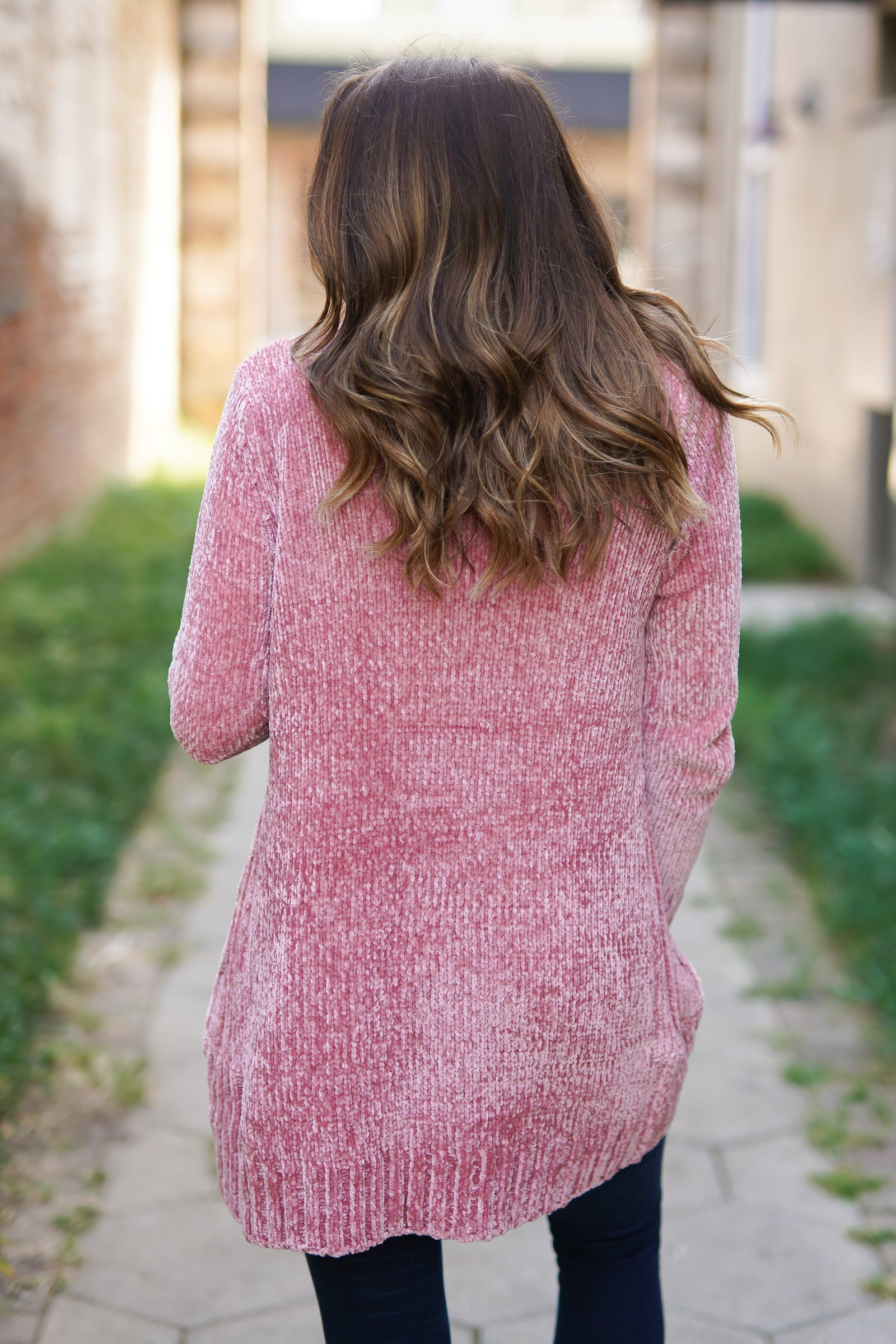 Winter Rose Cardigan
