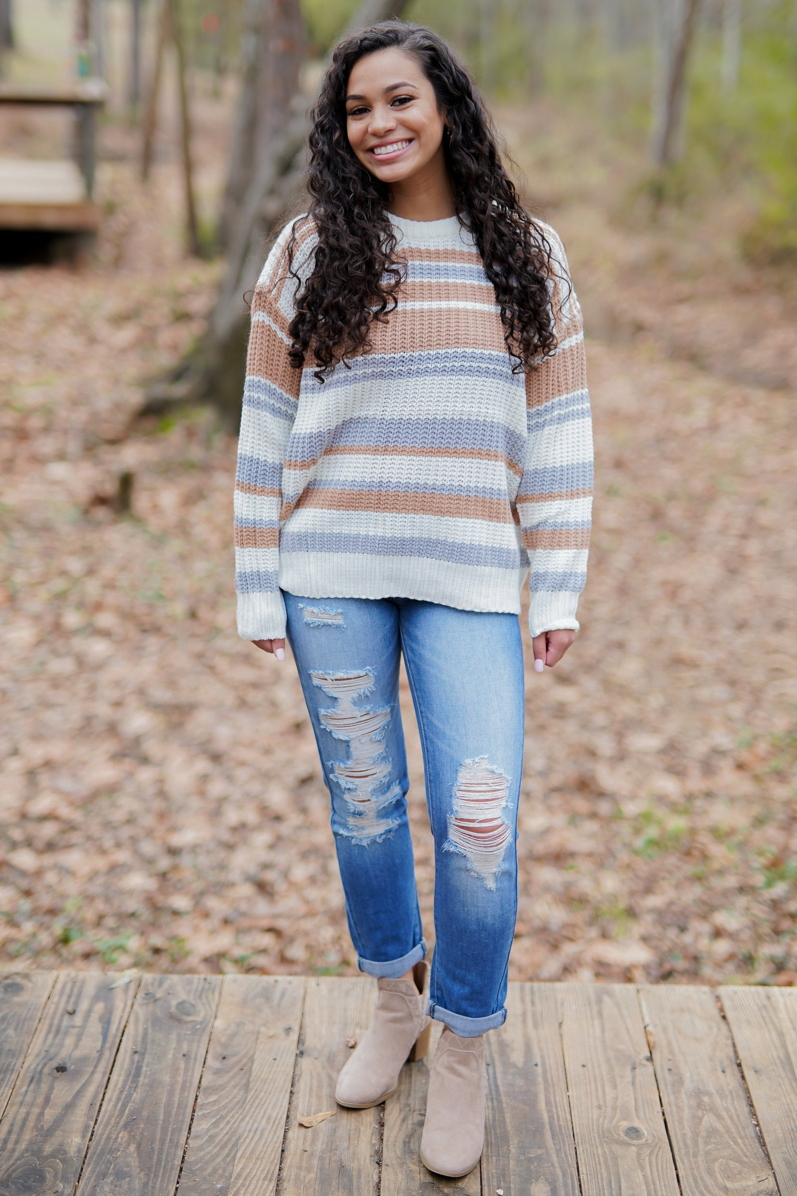 Toasted Almond Sweater