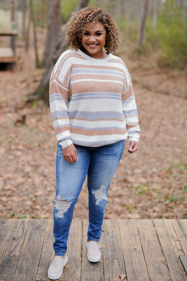 Toasted Almond Sweater - Curvy