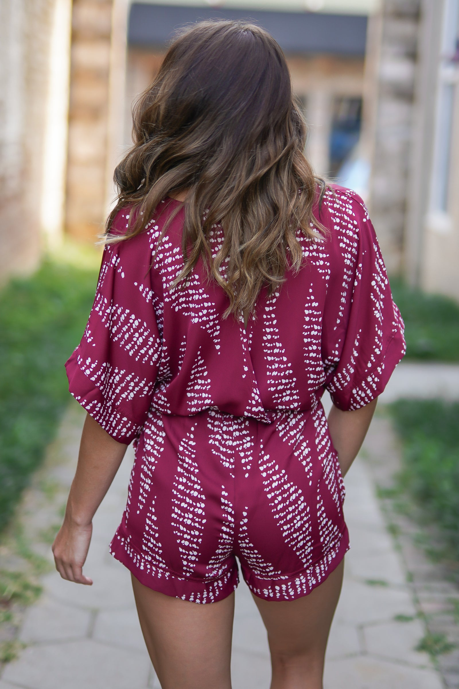 Sweet Red Romper