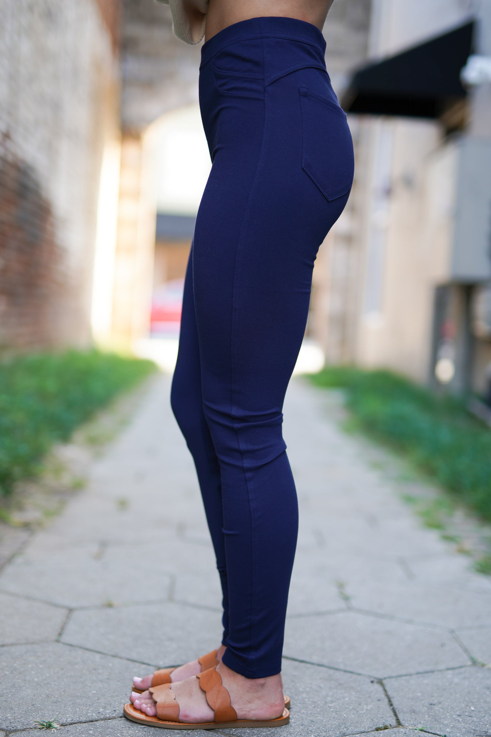 Penelope KanCan Jeggings- Blue