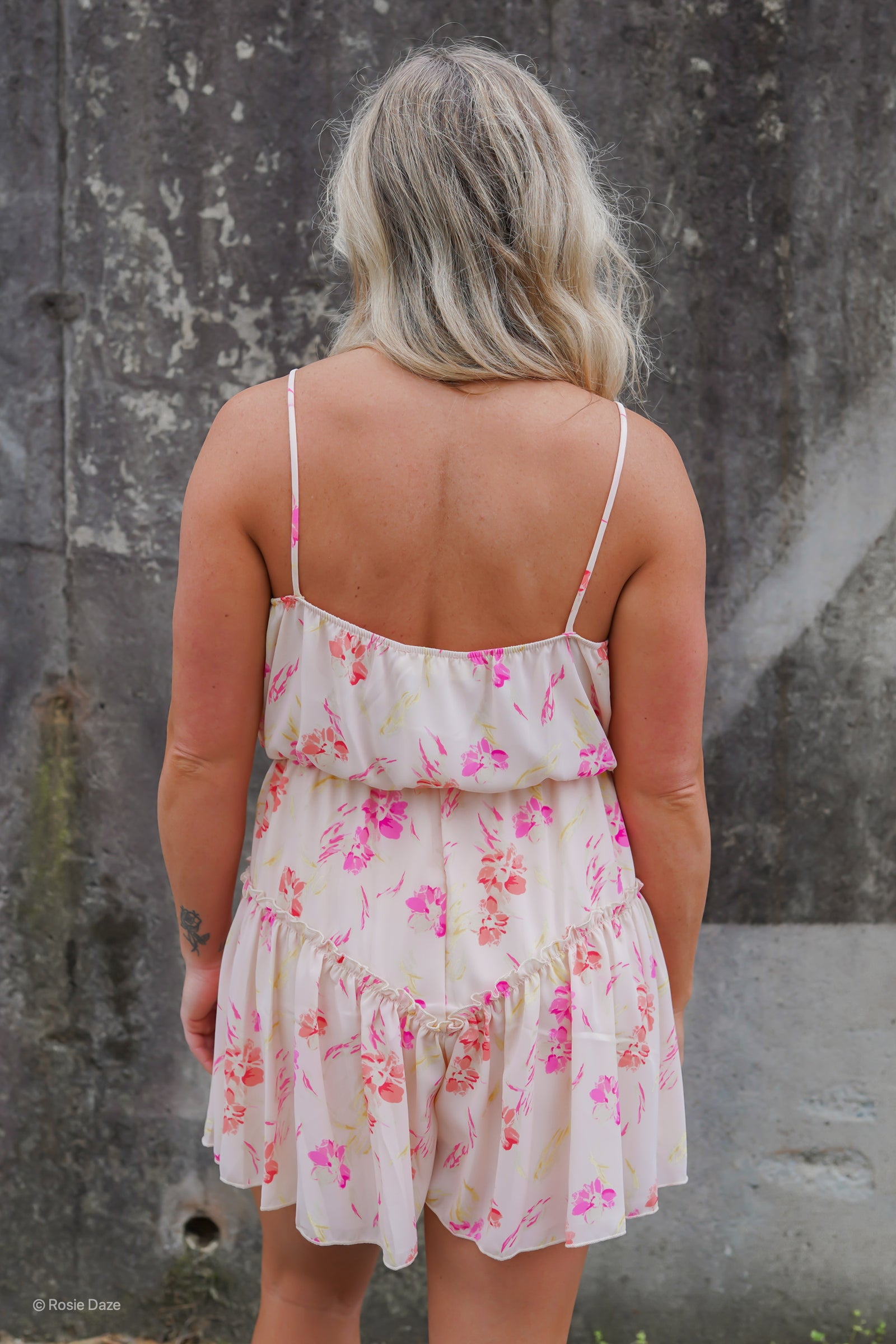 Perfectly Pink Romper