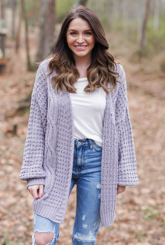 Wake Me Up Cardigan - Ivory