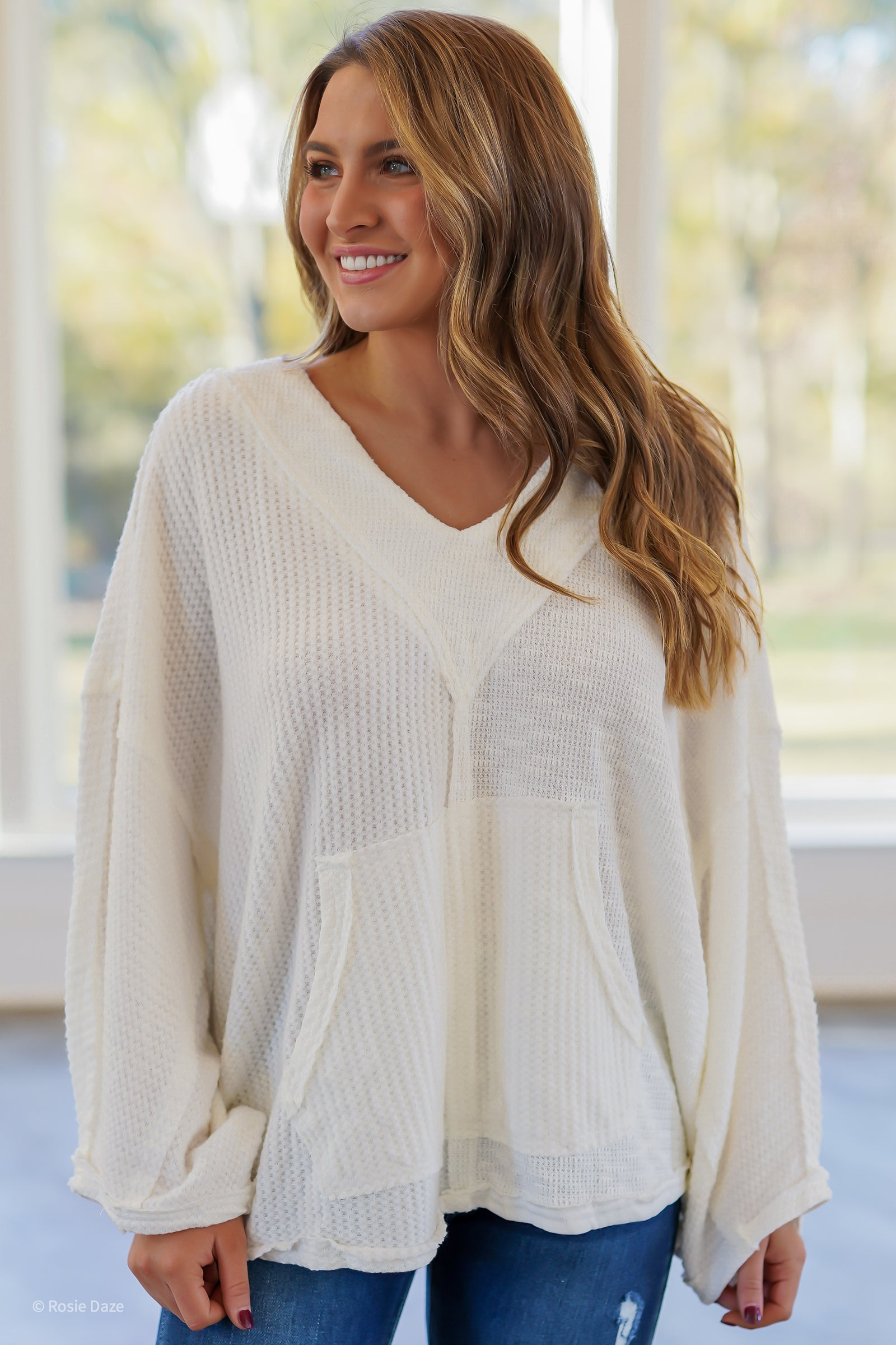 Clear as Day Thermal Pullover