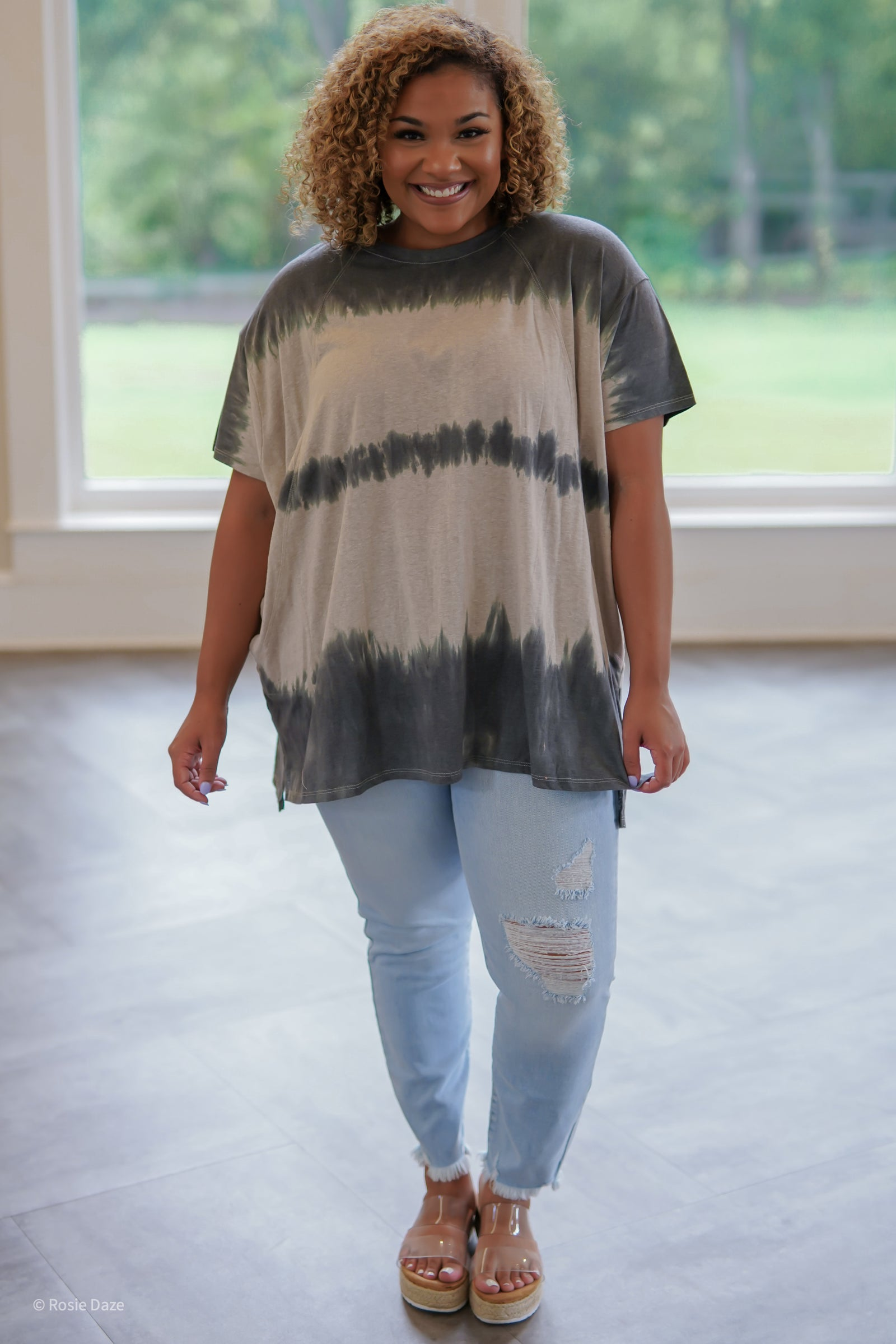 Tongue Twister Tie Dye Top