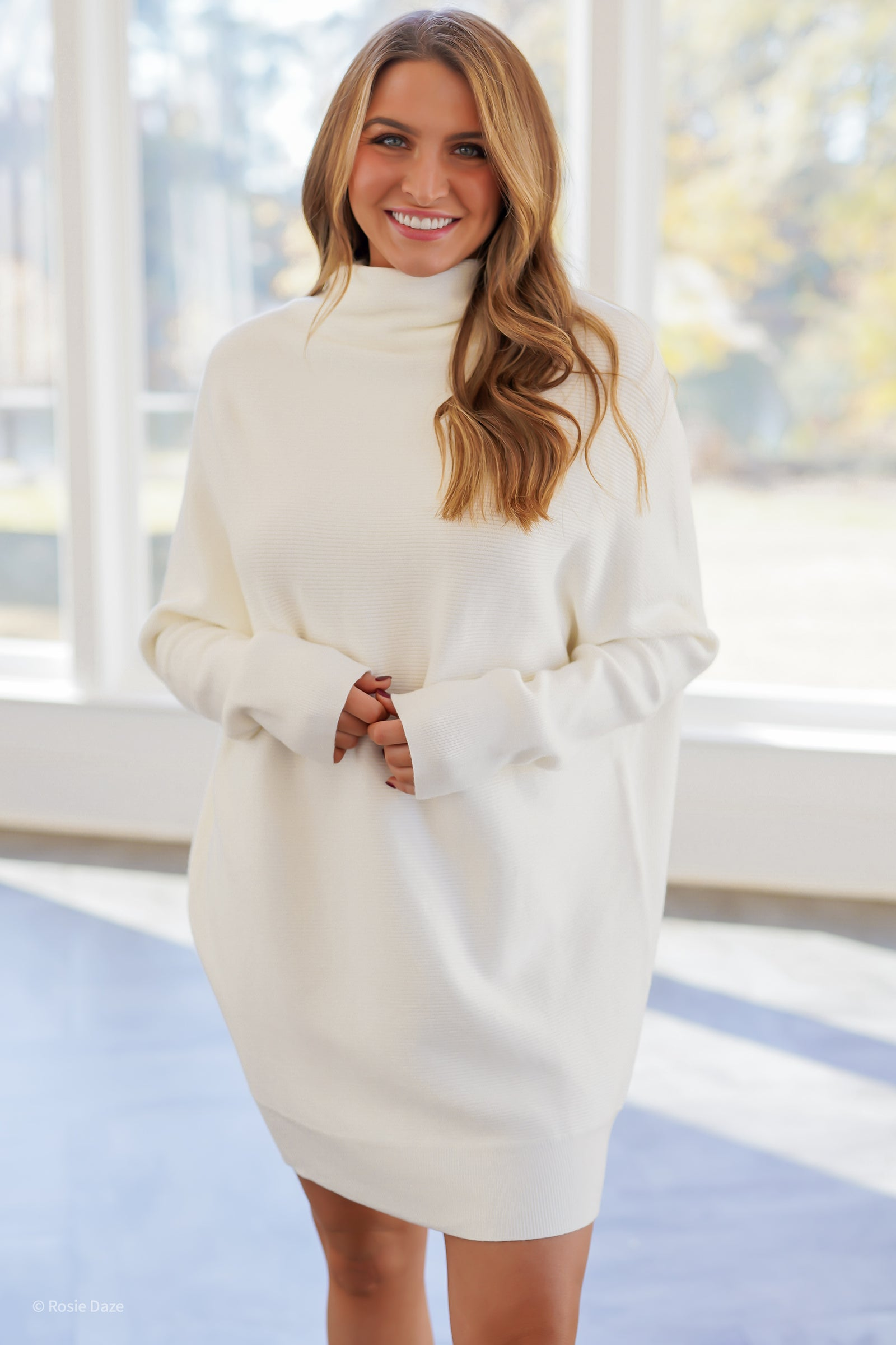 Just Dreamy Sweater Tunic - Ivory