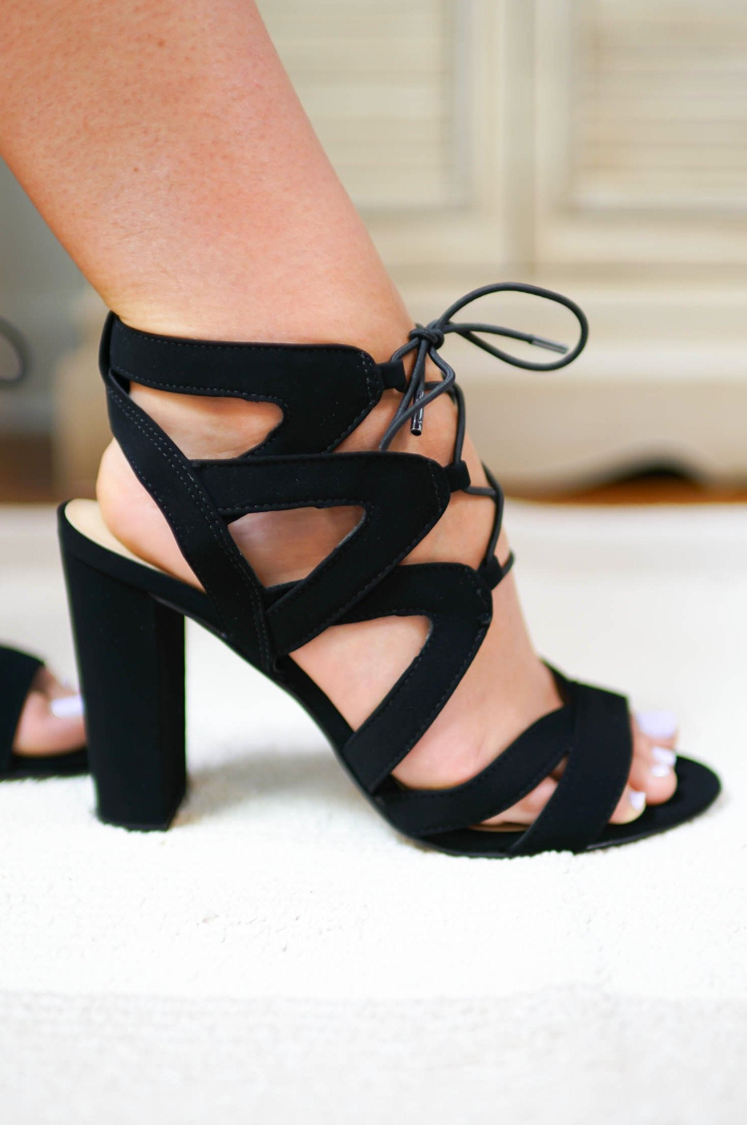 St Thomas Strappy Heels