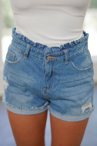 Just Lose It Denim Shorts