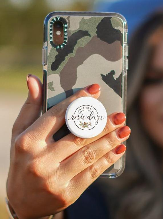 Rosie Daze Logo Pop Socket