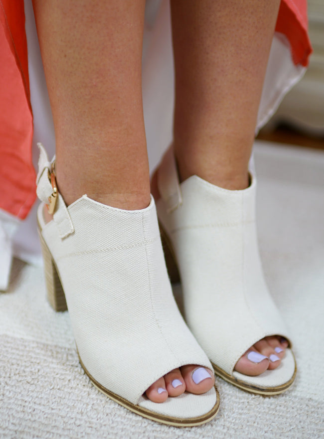 Faith Canvas Bootie