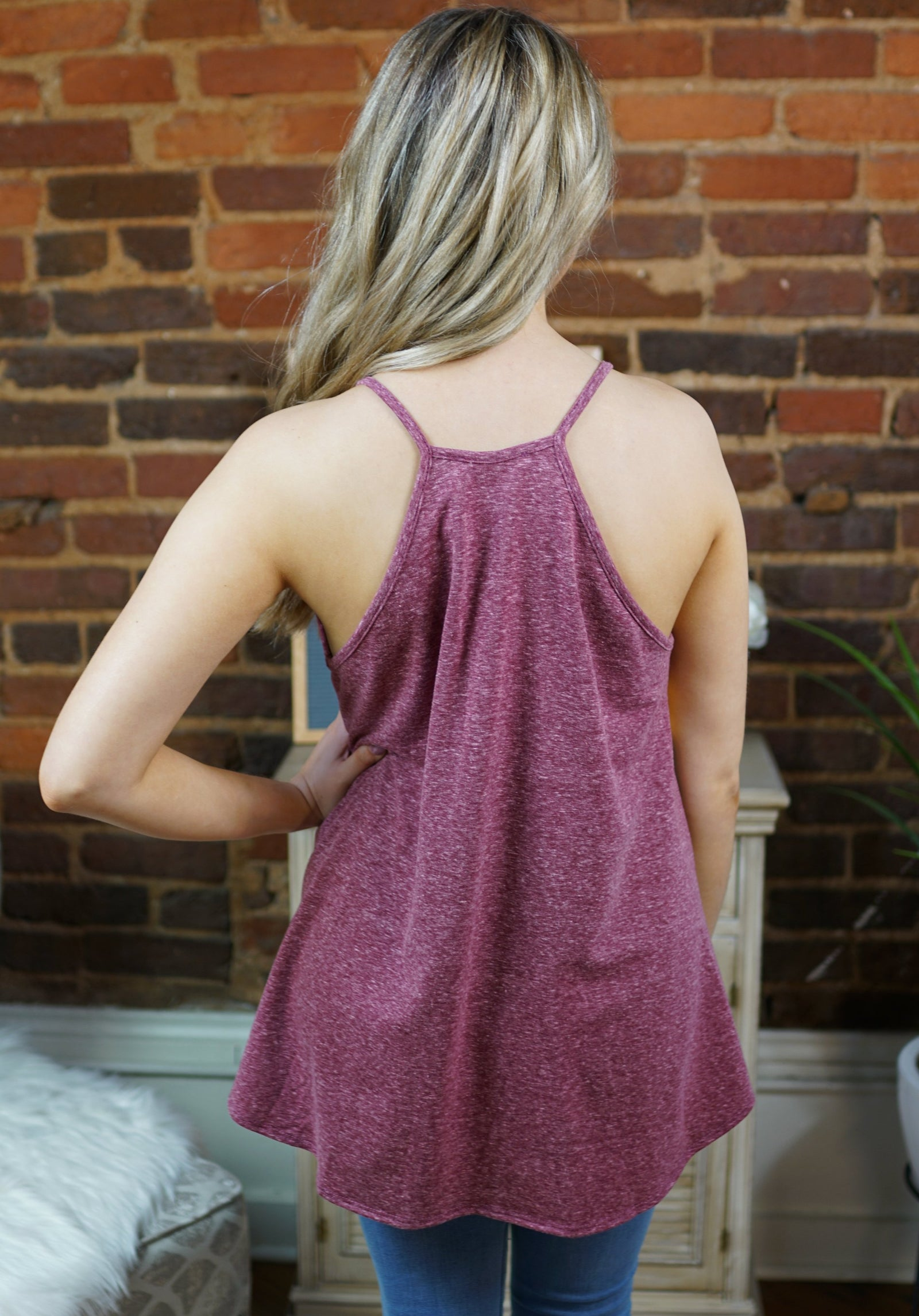 All Tied Up Racerback Tank