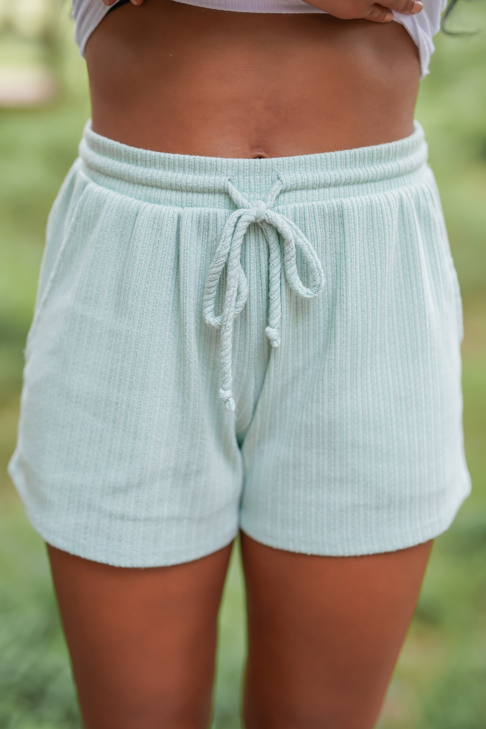 Sea Breeze Shorts - Mint