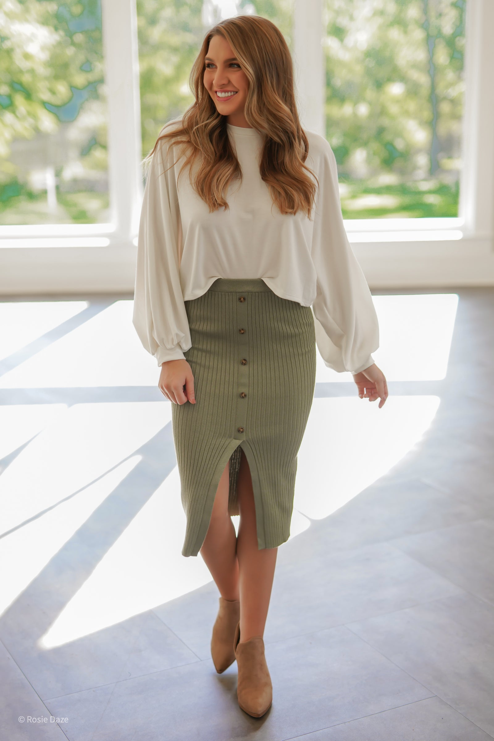 My Girl Midi Skirt