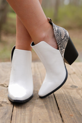 Capri Open Toe Booties