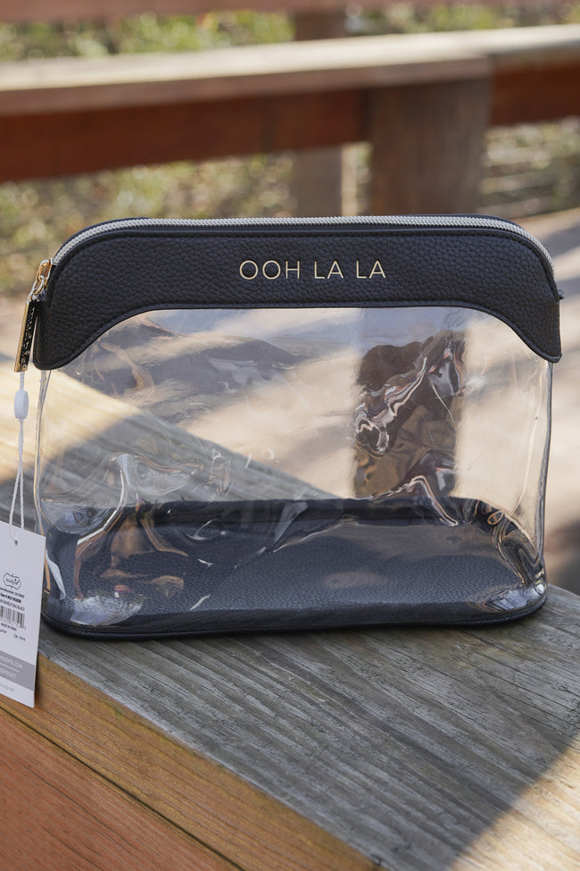 Ooh La La Mud Pie Cosmetic Bag