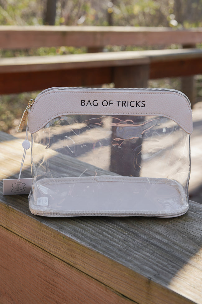 Bag of Tricks Mud Pie Cosmetic Bag
