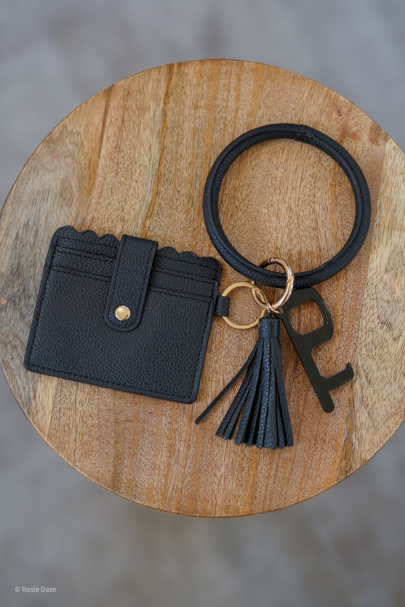 Don't Lose it Wristlet 2.0 - Black