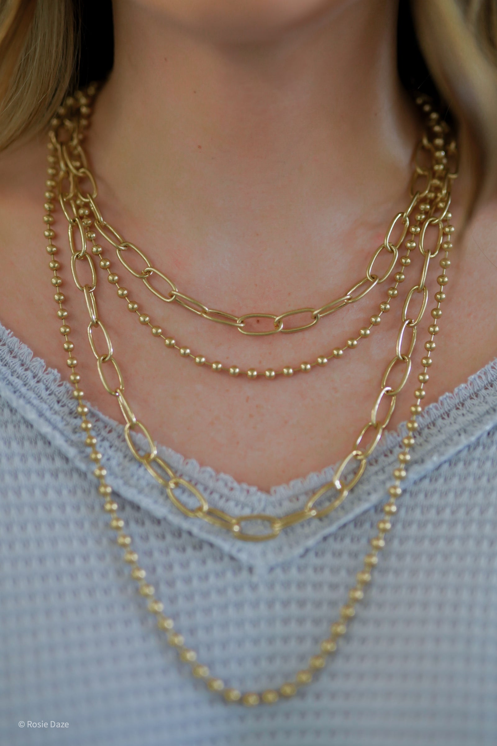 Long Lived Layered Necklace